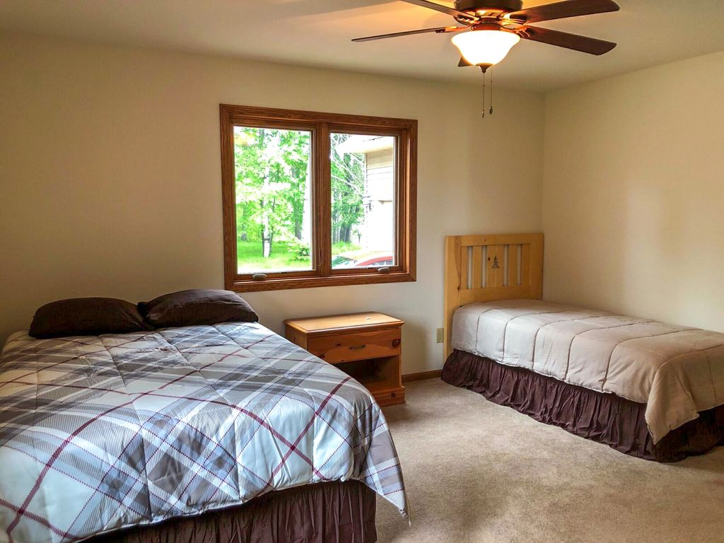 Second bedroom with double and single.